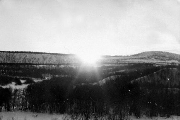 Первое солнце в феврале